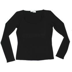 Abbigliamento Donna T-shirts a maniche lunghe Marella ATRMPN-25479 Nero