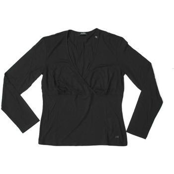 Abbigliamento Donna T-shirts a maniche lunghe Diana Gallesi ATRMPN-25482 Nero