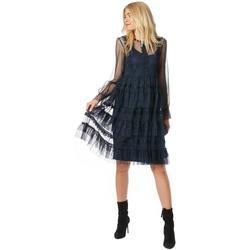 Abbigliamento Donna Abiti lunghi Fracomina F120W14041W00401-053-UNICA - A  Nero