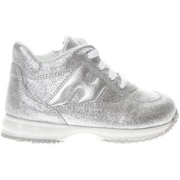 Scarpe Bambina Sneakers basse Hogan HXT0920O243FTI B200-UNICA - Ho  Argento