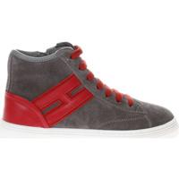 Scarpe Bambino Sneakers alte Hogan HXC3400K371HB9 2B13-UNICA - J3  Grigio
