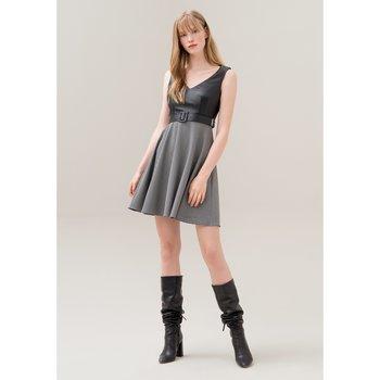 Abbigliamento Donna Abiti lunghi Fracomina F120W14061W060F6-060-UNICA - A  Nero
