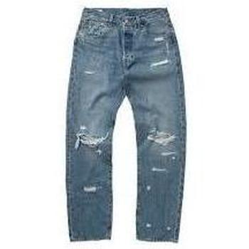 Abbigliamento Uomo Pantaloni Levi's 79830-0099-UNICA - JEANS 501 9  Blu