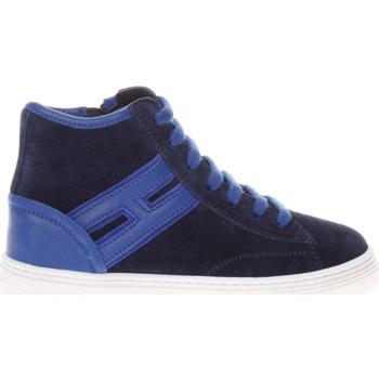 Scarpe Bambino Sneakers alte Hogan HXC3400K371HB9 0PRU-UNICA - J3  Blu