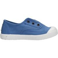 Scarpe Bambino Sneakers Victoria - Slip on  azzurro 106627 ANIL AZZURRO