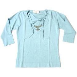 Abbigliamento Donna T-shirts a maniche lunghe Marella ATRMPN-25490 Blu