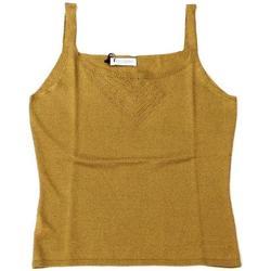 Abbigliamento Donna Top / T-shirt senza maniche Ferrante ATRMPN-25499 Beige