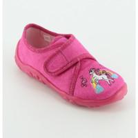 Scarpe Bambina Pantofole Superfit 258 pantofola  unicorno Rosa