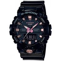 Orologi & Gioielli Uomo Orologio Misto Analogico-Digitale Casio Orologio  G-Shock nero / oro rosa - 42 mm Multicolore