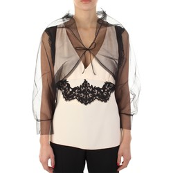 Abbigliamento Donna Top / T-shirt senza maniche Anna Molinari 24222 Nero