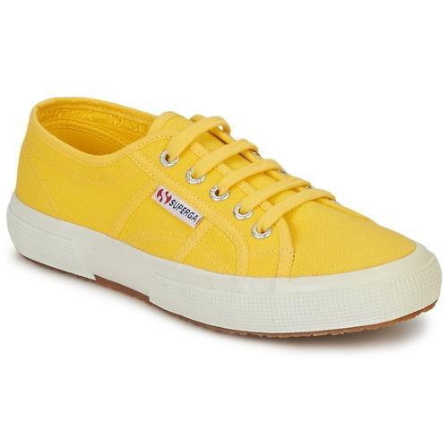 Superga 2750 CLASSIC Giallo - Scarpe Sneakers basse Donna 41,30