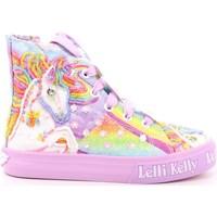 Scarpe Unisex bambino Sneakers alte Lelli Kelly 354 - LK9090 Lilla