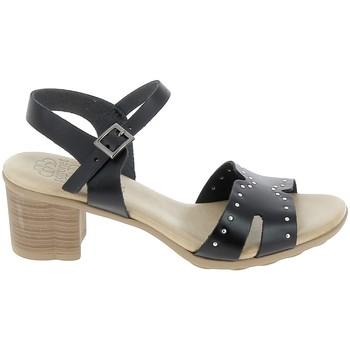Scarpe Donna Sandali Porronet Sandale F12626 Noir Nero
