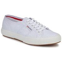 Scarpe Sneakers basse Superga 2750 COTUSHIRT Bianco / Blu