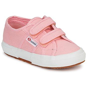 Scarpe Bambina Sneakers basse Superga 2750 STRAP Rosa