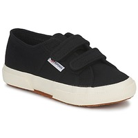 Scarpe Unisex bambino Sneakers basse Superga 2750 STRAP Nero
