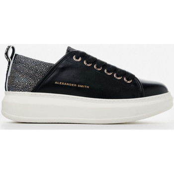 Scarpe Donna Sneakers basse Alexander Smith WEMBLEY nero-argento