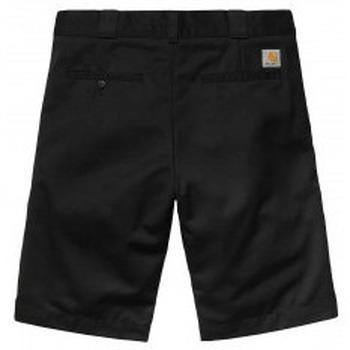 Abbigliamento Uomo Shorts / Bermuda Carhartt Pantaloncini Master Short - Black Rinsed Multicolore