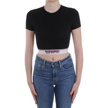 Abbigliamento Donna Maglioni Dsquared2 Underwear D8M263470 Nero
