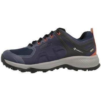 Scarpe Uomo Running / Trail Keen Explore WP Nero, Blu marino