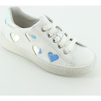 Scarpe Bambina Sneakers basse Let Me Be 9431 sneaker bassa 3 cuori Argento