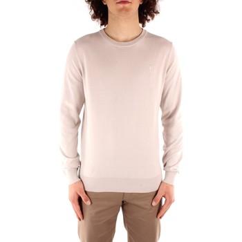 Abbigliamento Uomo Maglioni Trussardi 52M00477 0F000668 BIANCO