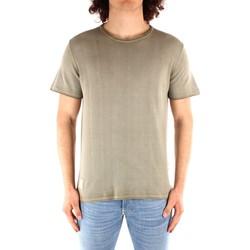 Abbigliamento Uomo T-shirt maniche corte Blauer 21SBLUM01319 VERDE
