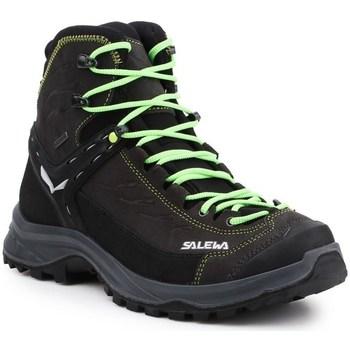Scarpe Uomo Sneakers alte Salewa MS Hike Trainer Mid Gtx Nero, Grigio, Marrone