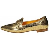 Scarpe Donna Mocassini Mara Bini Mocassino laminato effetto pitonato Oro Oro