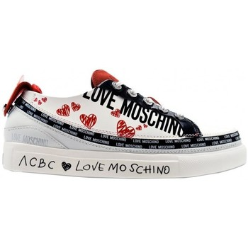 Scarpe Donna Sneakers Acbc sneakers modulare Moschino Lover Bianco