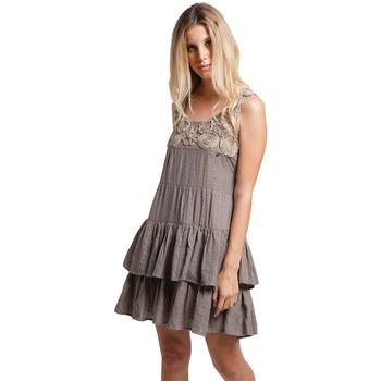 Abbigliamento Donna Abiti lunghi Goa Goa 111026 029-UNICA - Abito Mojan  Beige