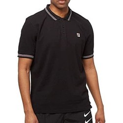 Abbigliamento Uomo Polo maniche corte Fila 687656 002-UNICA - Polo Matcho  Nero