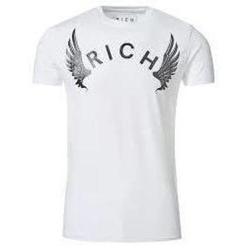 Abbigliamento Uomo T-shirt maniche corte John Richmond T-shirt Slim Scorpions BIANCO