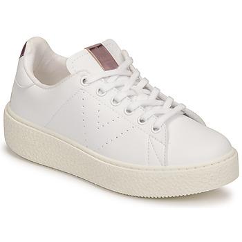 Scarpe Unisex bambino Sneakers basse Victoria Tribu Bianco