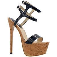 Scarpe Donna Sandali Kiara Shoes KH101 Nero