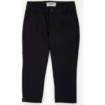 Abbigliamento Bambino Pantaloni 5 tasche Iceberg PTICE1107B Blu
