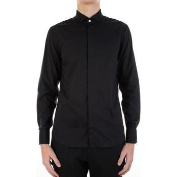 Abbigliamento Uomo Camicie maniche lunghe Manuel Ritz 3030E652-213229 Nero