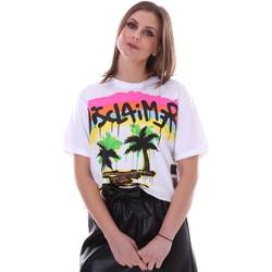 Abbigliamento Donna T-shirt maniche corte Disclaimer 21EDS50632 Bianco