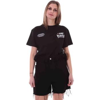 Abbigliamento Donna T-shirt maniche corte Disclaimer 21EDS50642 Nero