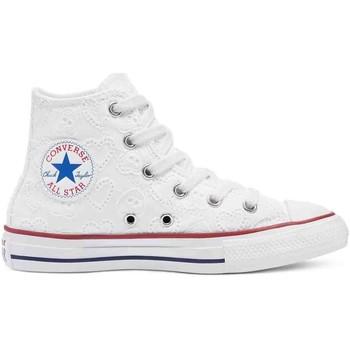 Scarpe Unisex bambino Sneakers Converse 671097C Bianco
