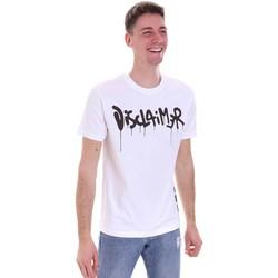 Abbigliamento Uomo T-shirt maniche corte Disclaimer 21EDS50565 Bianco