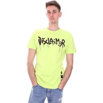 Abbigliamento Uomo T-shirt maniche corte Disclaimer 21EDS50565 Verde