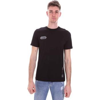 Abbigliamento Uomo T-shirt maniche corte Disclaimer 21EDS50517 Nero