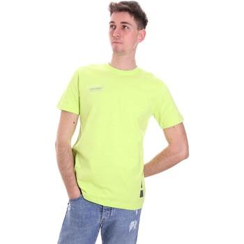 Abbigliamento Uomo T-shirt maniche corte Disclaimer 21EDS50517 Verde