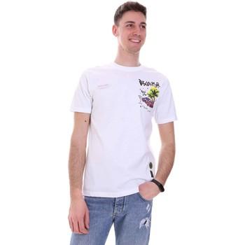 Abbigliamento Uomo T-shirt maniche corte Disclaimer 21EDS50522 Bianco