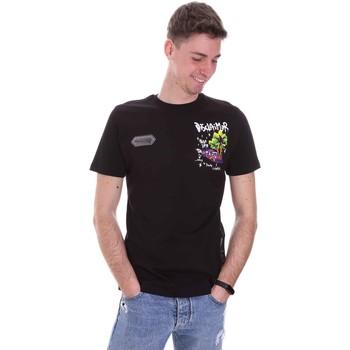Abbigliamento Uomo T-shirt maniche corte Disclaimer 21EDS50522 Nero