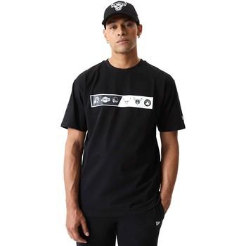 Abbigliamento Uomo T-shirt maniche corte New-Era 12553333 Nero