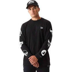 Abbigliamento Uomo Felpe New-Era 12553334 Nero