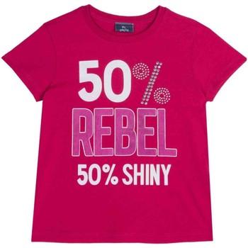 Abbigliamento Unisex bambino T-shirt maniche corte Chicco 09067157000000 Rosa