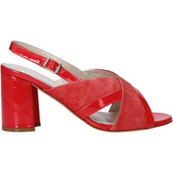 Scarpe Donna Sandali Melluso HS530 Rosso